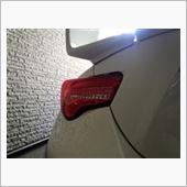 Valenti  LED テールランプ ハーフレッド/クローム