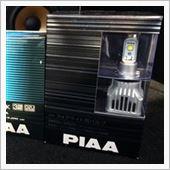 PIAA LEDフォグライト用バルブ 6000K H8/H11/H16 / LEF102