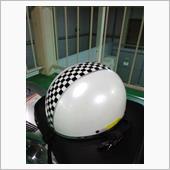 不明 半キャップヘルメット