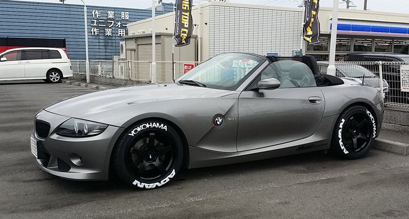 みんカラ Tire Stickers Yokohama Advanタイヤステッカー Z4 ロードスター By