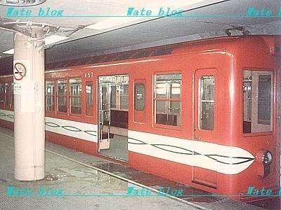営団地下鉄の古い電車の写真。小学校6年生の頃に撮ったのかな?こんな撮り... マイナー嗜好で歩む
