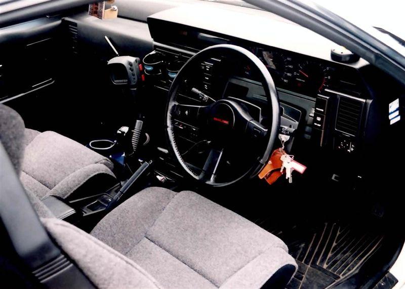 [大きい写真で見る]どノーマルな運転席 4 R31 SKYLINE フィルム写真スキャン スカイ