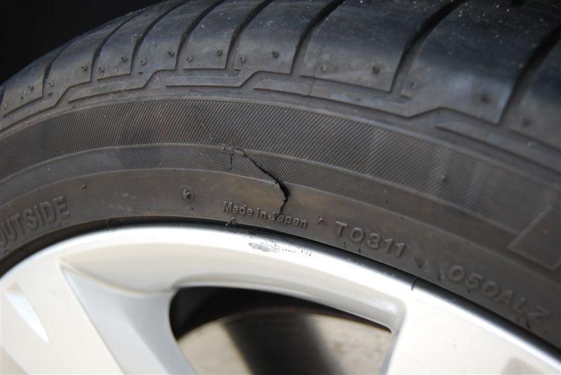 タイヤ交換&サイドウォール傷|E92 335のある生活|ブログ ...