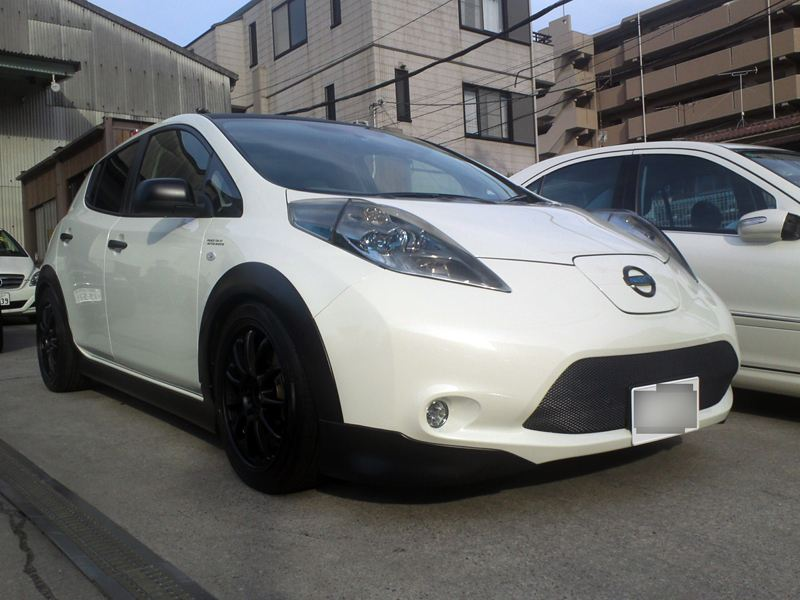 Aftermarket Billet Grill Black Mesh My Nissan Leaf Forum