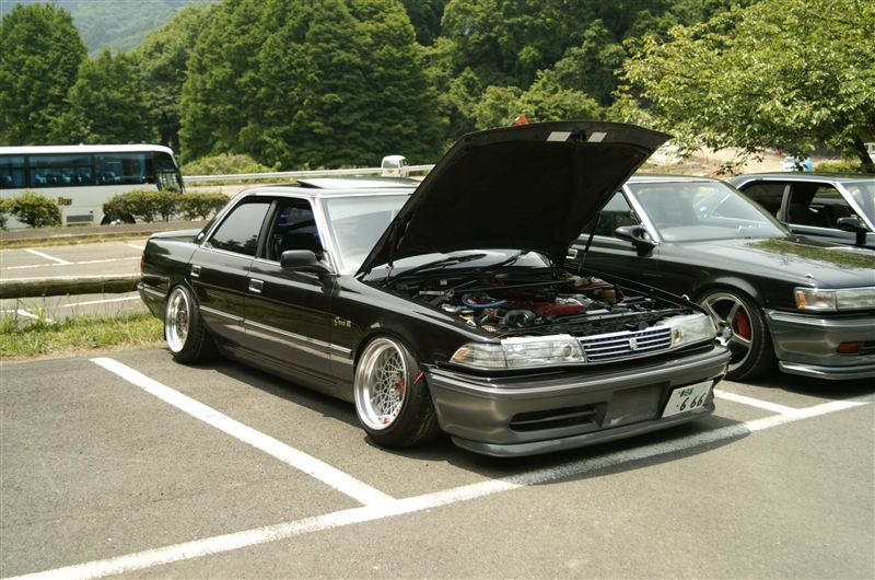 This Mark II Is My Favorite In This Post. So JDM. Real JDM.