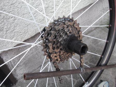 自転車の 自転車 ロックリング回し : スプロケットの画像 - 原寸画像 ...