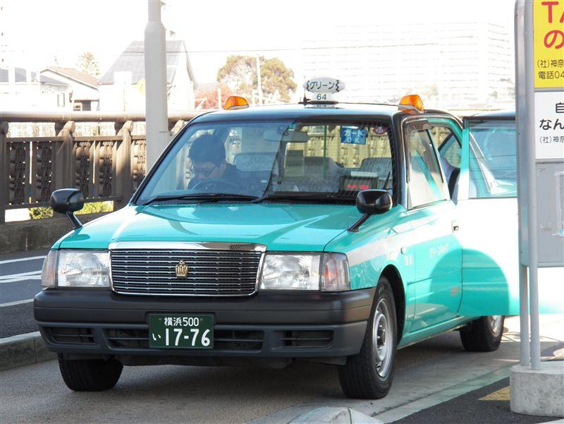 """[大きい写真で見る]グリーンキャブは東京と神奈川をまたにかける準大手のタ... """" Winter"""