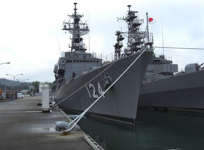 海上自衛隊 舞鶴地方隊 北吸桟橋で、 護衛艦の見学が、出来ます。 ※無...  車・自動車SNS
