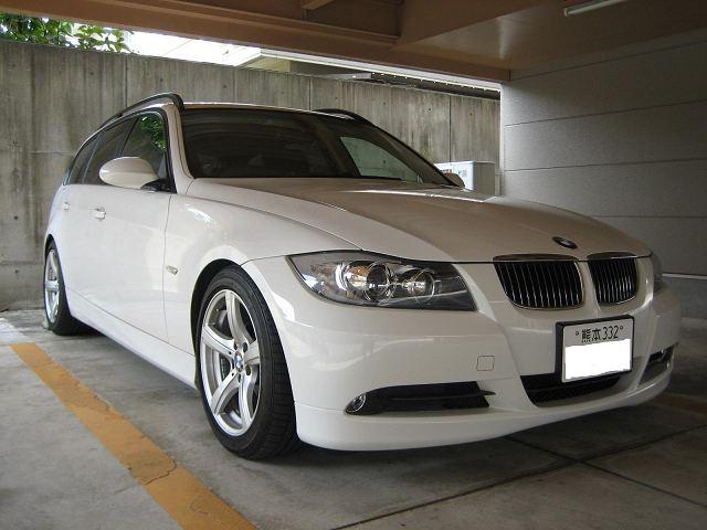 BMW 3シリーズ ツーリング  BMW 3シリーズ ツーリング(HL)に乗っています。 aud
