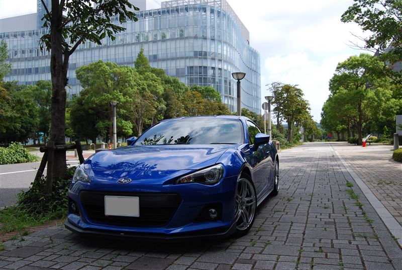brz subaru car profile 白クモ minkara the car automobile 高清图片