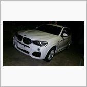 かずぼーさんの愛車:BMW X3