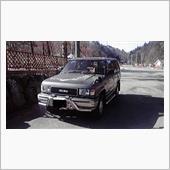 大鹿村さんの愛車:いすゞ ビッグホーン