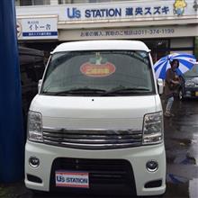 eshikari:SF-5さんの愛車:スズキ エブリイワゴン