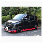 黒のラ@とっちゃさんの愛車:トヨタ ルーミーカスタム