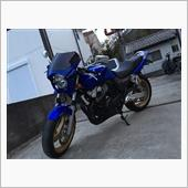 いっしー CB400SFさんの愛車:ホンダ CB400 SUPER FOUR HYPER VTEC spec3