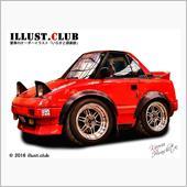 illust.clubさんのMR2