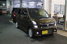 kurohamaさんの愛車:スズキ ワゴンRスティングレーハイブリッド