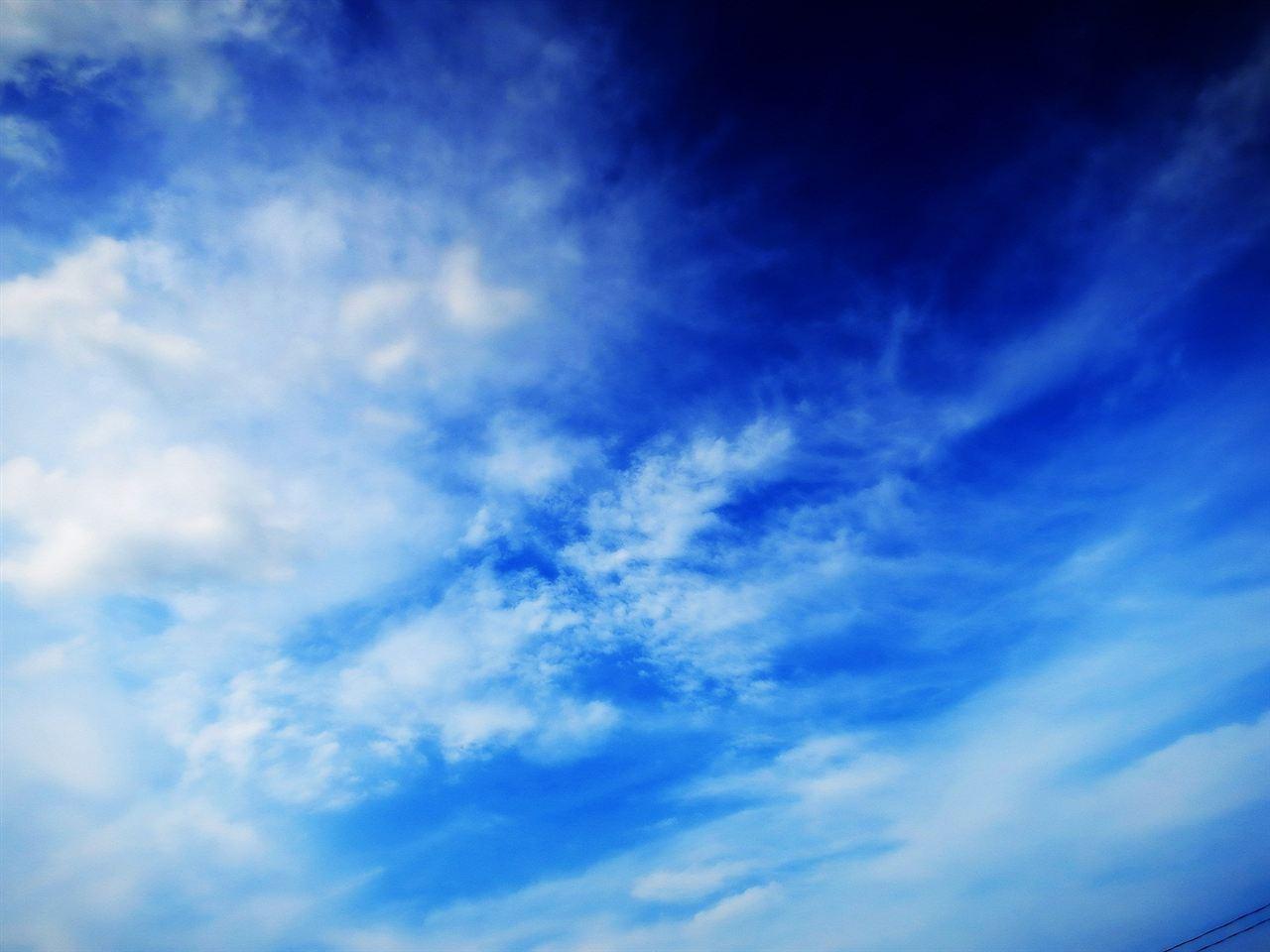 久々の青空