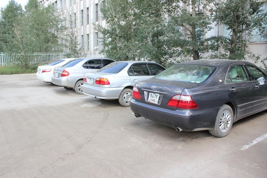 モンゴルの自動車事情