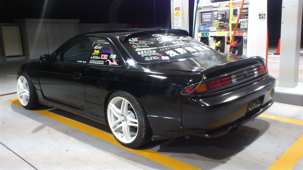 "240sx Fairlady >> Pic request - s14 Kouki rear bumper with ""series 1"" spats ?? - Zilvia.net Forums 