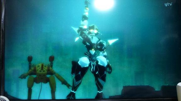 ベローズのユンボロとレドのユンボロw チェインバーは何やら索敵中のよ... 翠星のガルガンティア