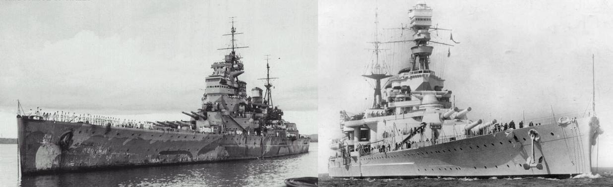 新鋭戦艦「プリンス・オブ・ウェールズ」 巡洋戦艦「レパルス」 12月8... Strange D