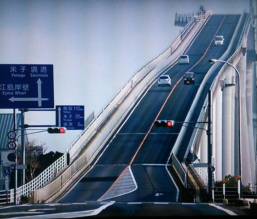 [组图] 日本江岛大桥 云霄飞车暴红网络(23P) - 路人@行者 - 路人@行者