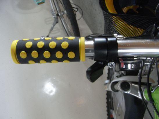 自転車の 自転車 変速機 グリップ 交換 : 部品取りでBD-1は不動車に ...