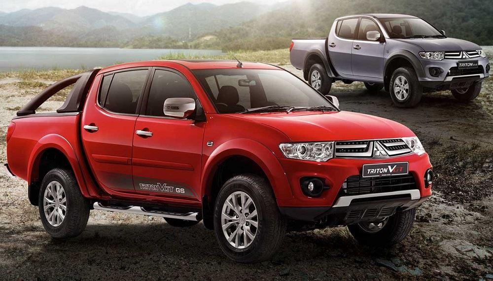 Mitsubishi Triton Vgt Red Peak Limited Edition : Malaysia