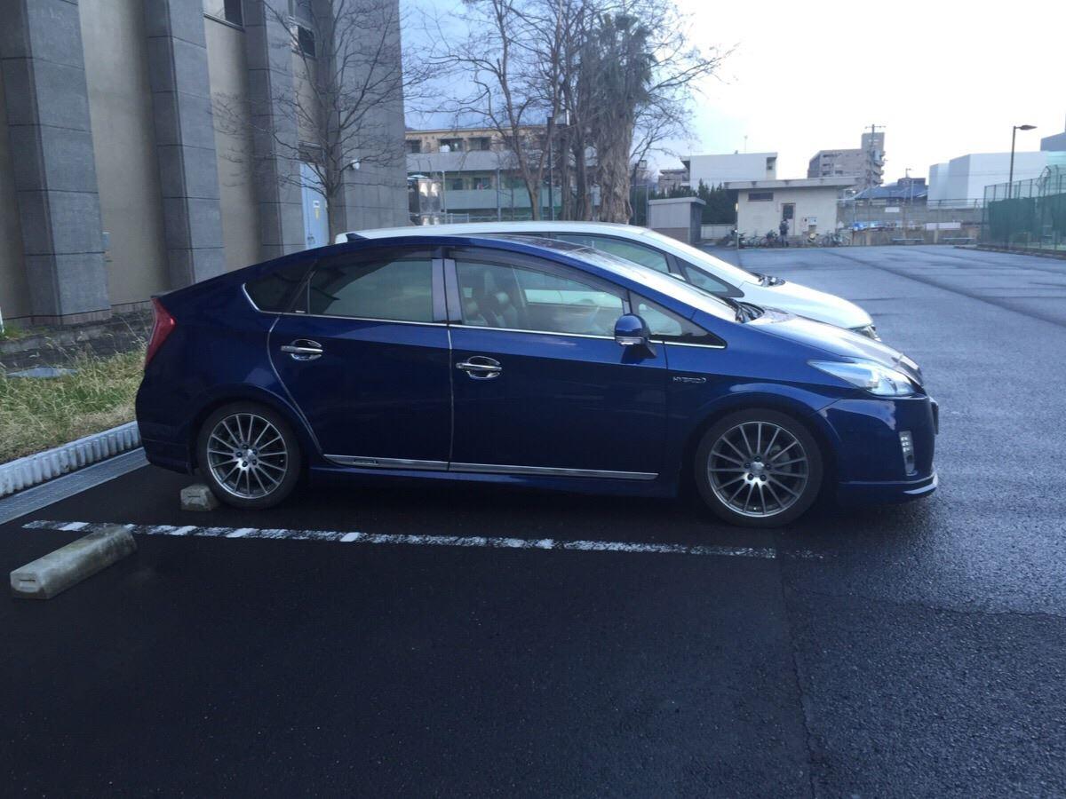 今日はいつもの駐車場(笑) つ~か、土日出勤したお陰で月曜日って気がし... 月曜日ですが、、´